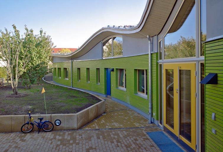 kologischer kindergarten passivhaus dresden reiter architekten gmbh kologische. Black Bedroom Furniture Sets. Home Design Ideas