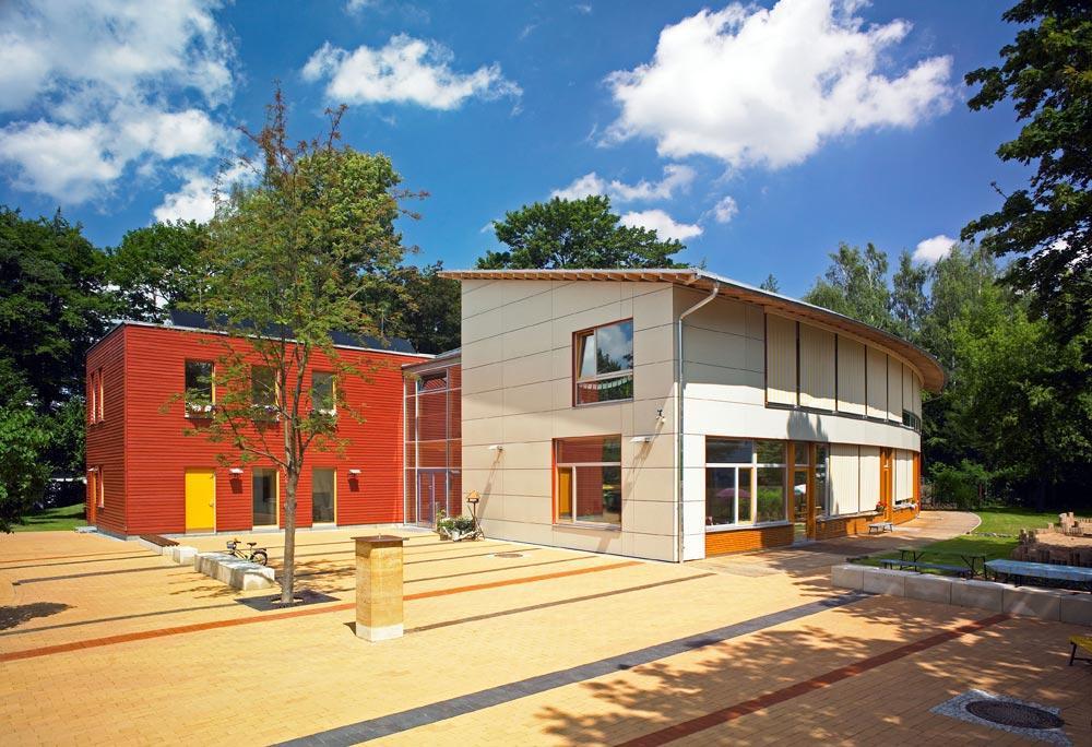 kologischer kindergarten passivhaus dresden reiter architekten bda kologische. Black Bedroom Furniture Sets. Home Design Ideas